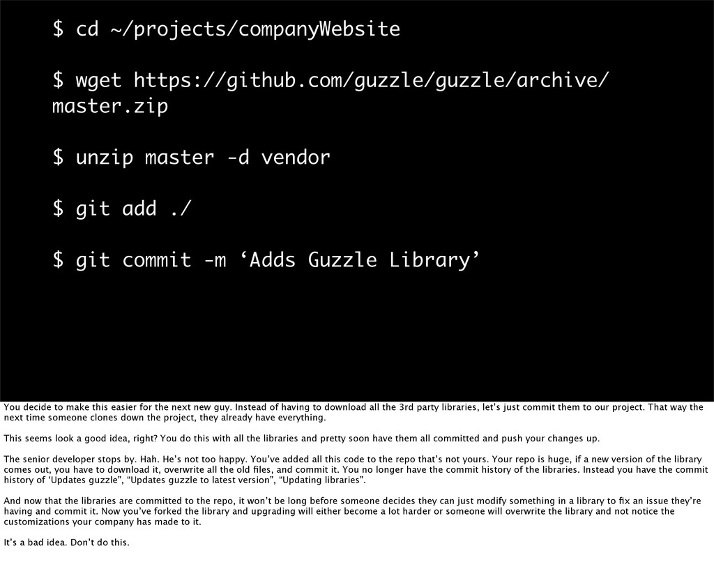 $ cd ~/projects/companyWebsite $ wget https://g...