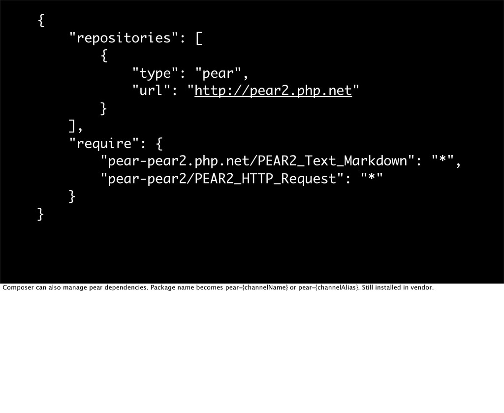 """{ """"repositories"""": [ { """"type"""": """"pear"""", """"url"""": """"h..."""