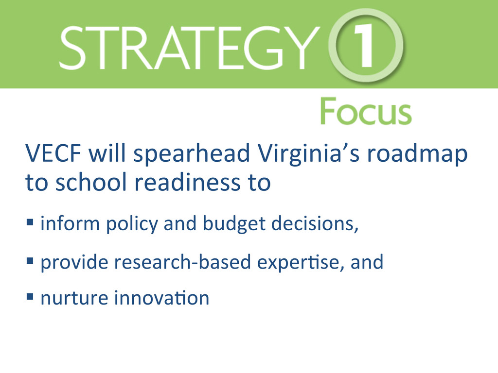 VECF will spearhead Virginia's road...