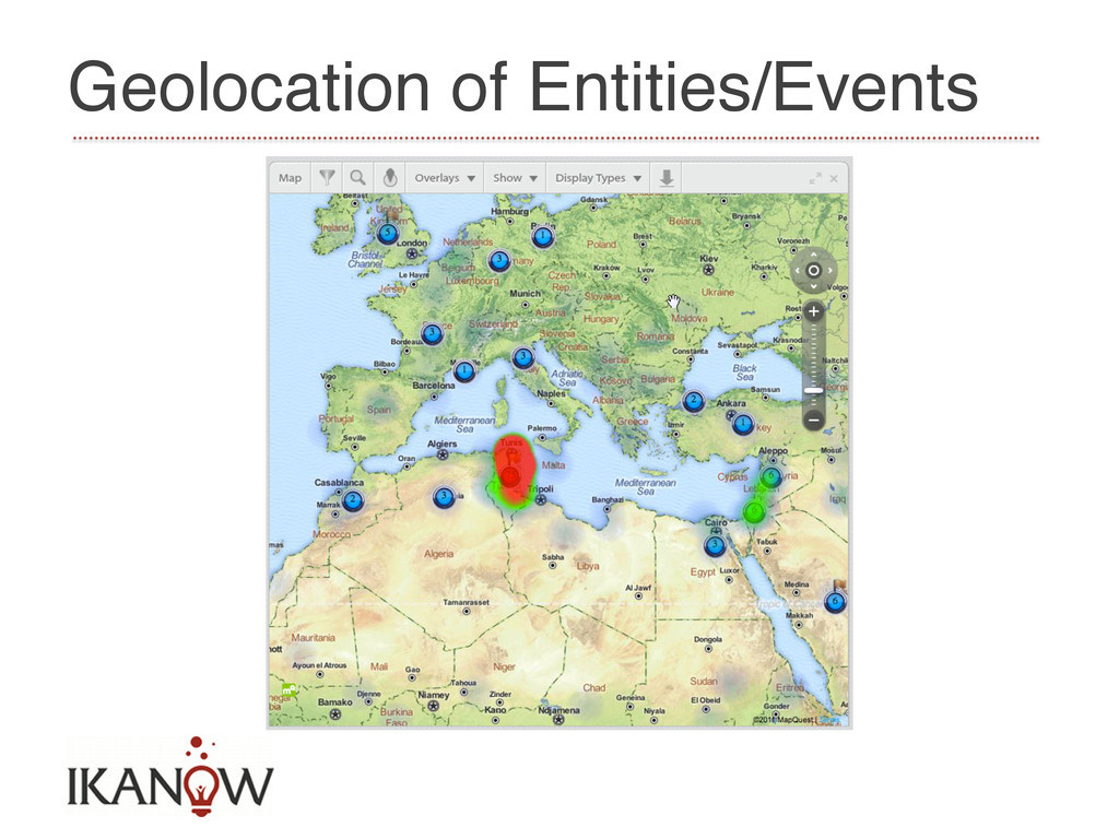 Geolocation of Entities/Events!