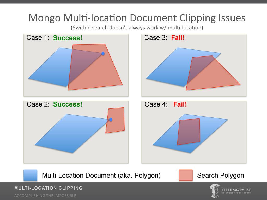 Case 3: Case 4: Multi-Location Document (aka. P...