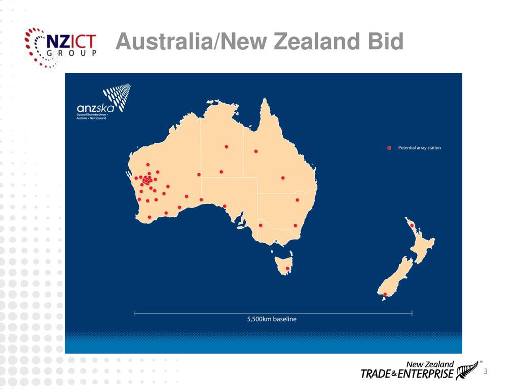 3 Australia/New Zealand Bid
