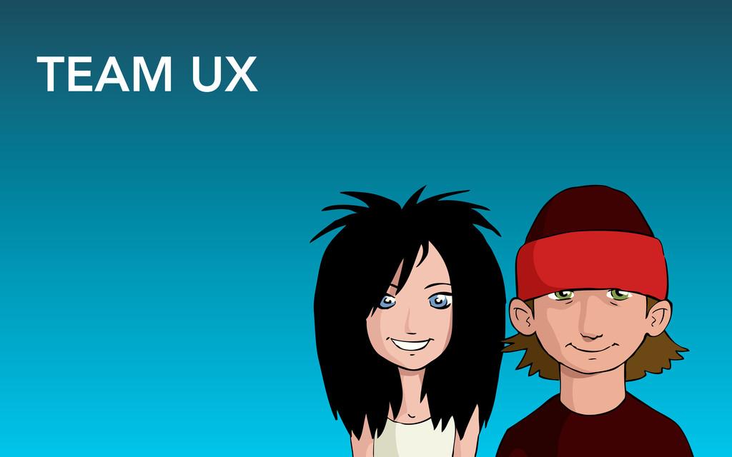 TEAM UX