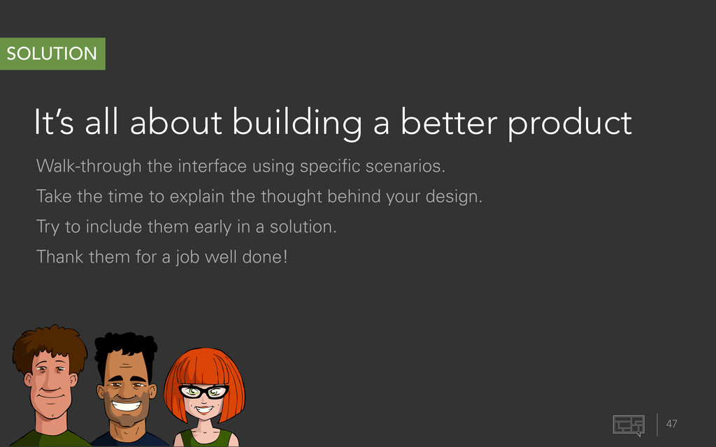 It's all about building a better product 47 SOL...