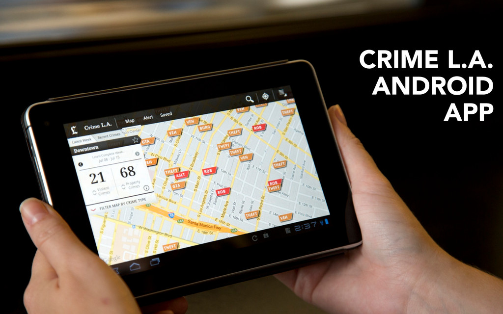 CRIME L.A. ANDROID APP