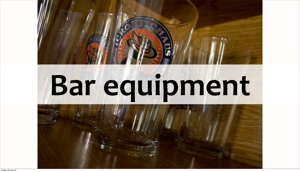 Bar	