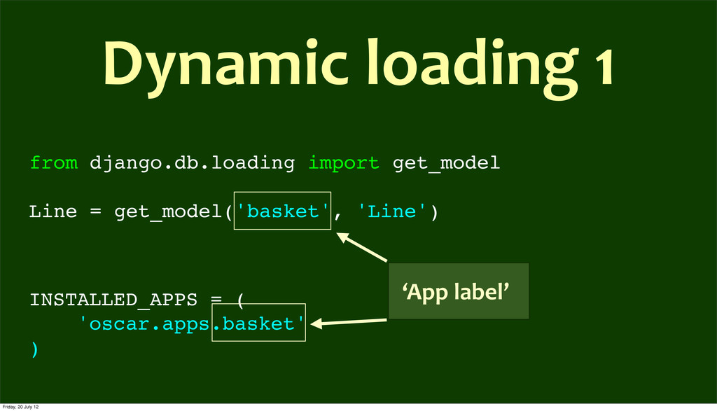 from django.db.loading import get_model Line = ...