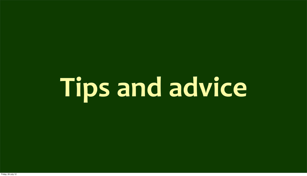 Tips	