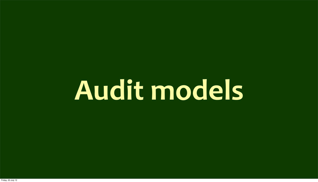 Audit	