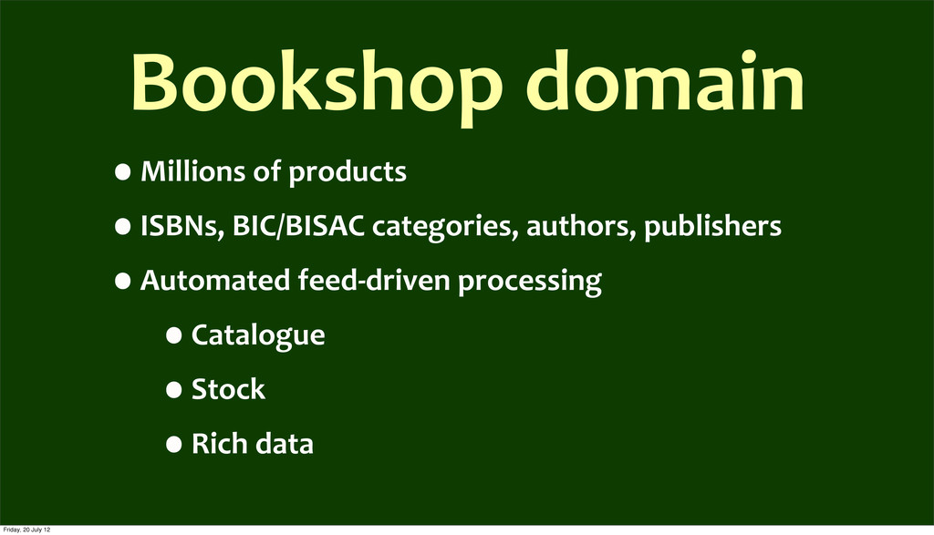 Bookshop	