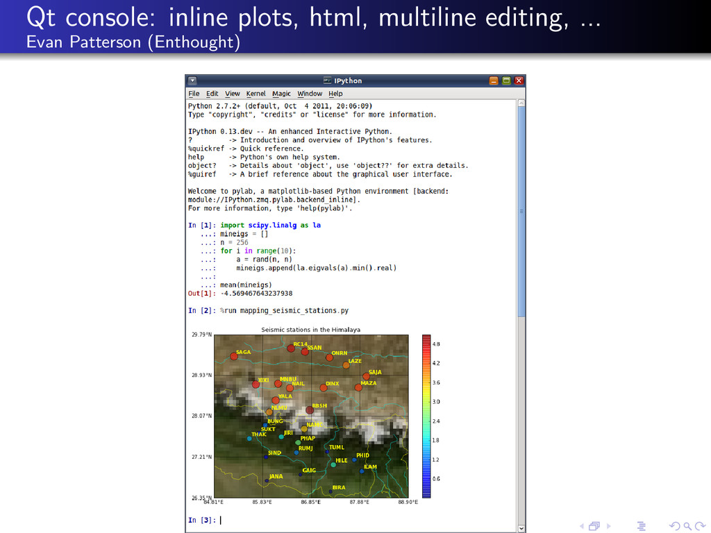 Qt console: inline plots, html, multiline editi...