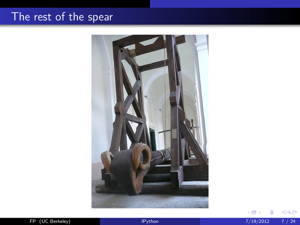 The rest of the spear FP (UC Berkeley) IPython ...