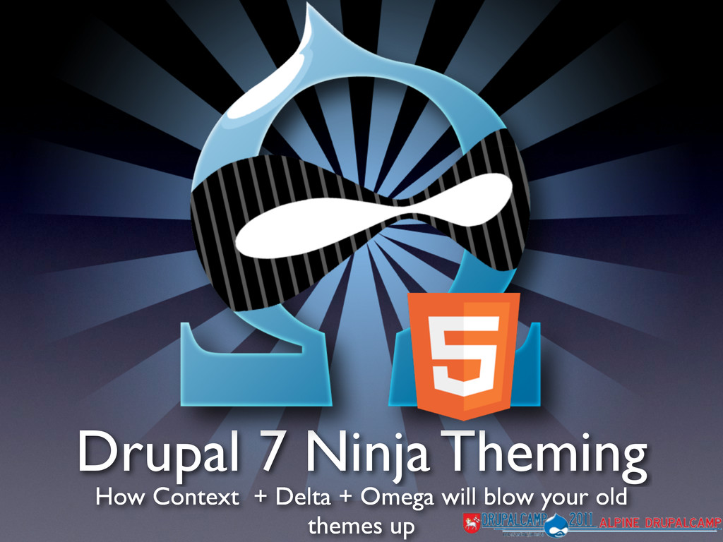 Drupal 7 Ninja Theming How Context + Delta + Om...