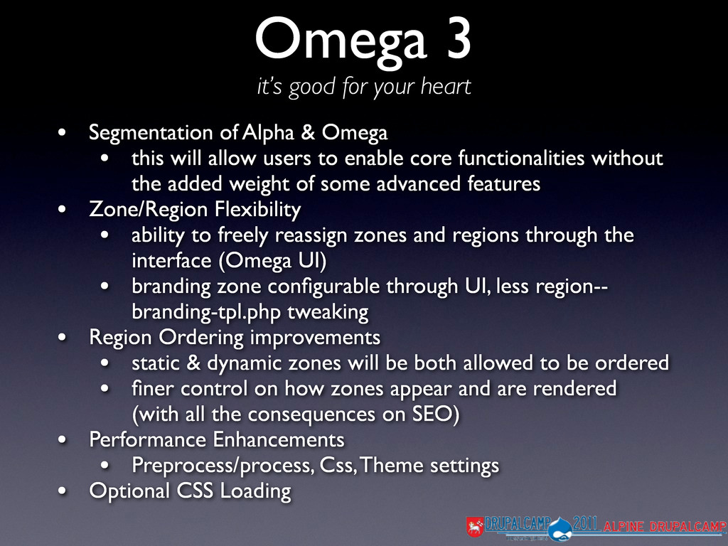 Omega 3 it's good for your heart • Segmentation...