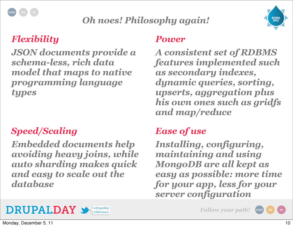 Oh noes! Philosophy again! Flexibility Power Ea...