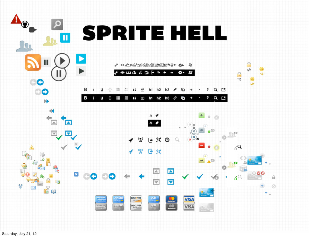 SPRITES SPRITE HELL Saturday, July 21, 12