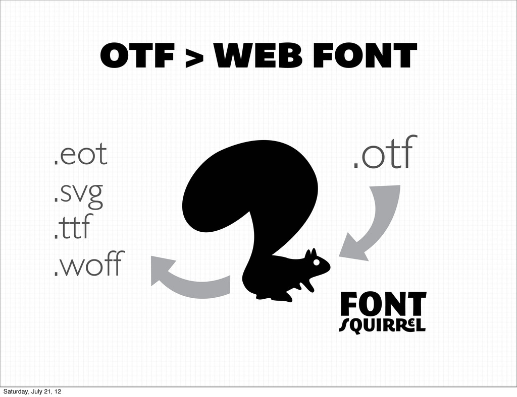 OTF > WEB FONT FONT QUIR L .otf .eot .svg .ttf ...