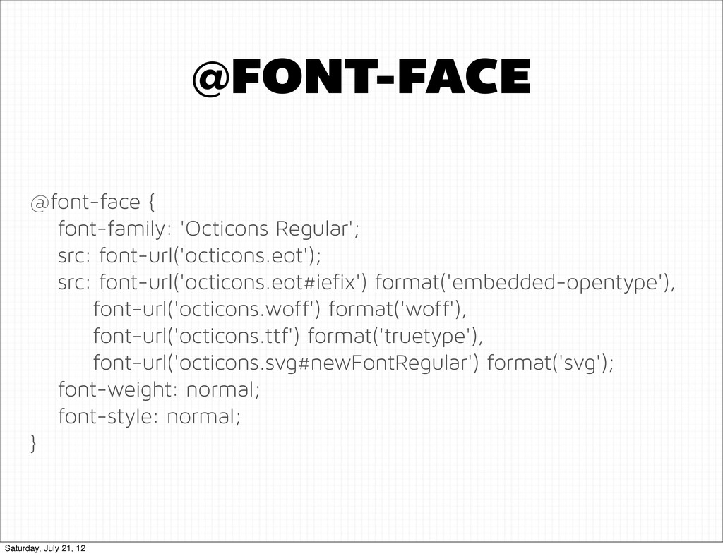 @font-face { font-family: 'Octicons Regular'; s...