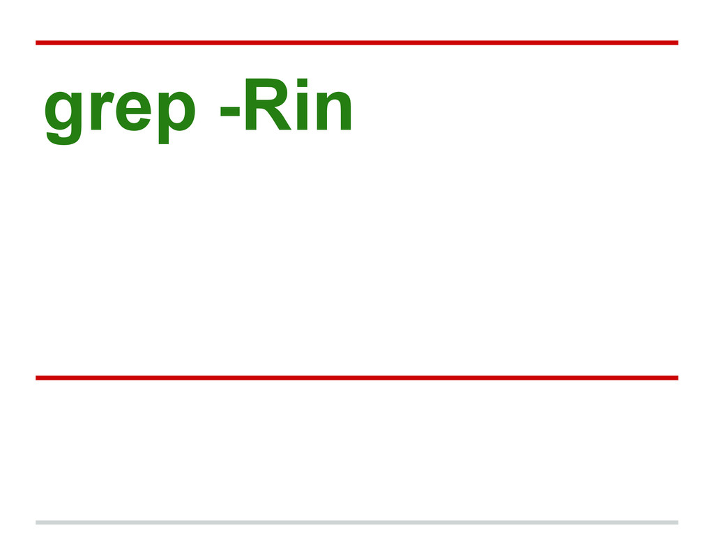 grep -Rin