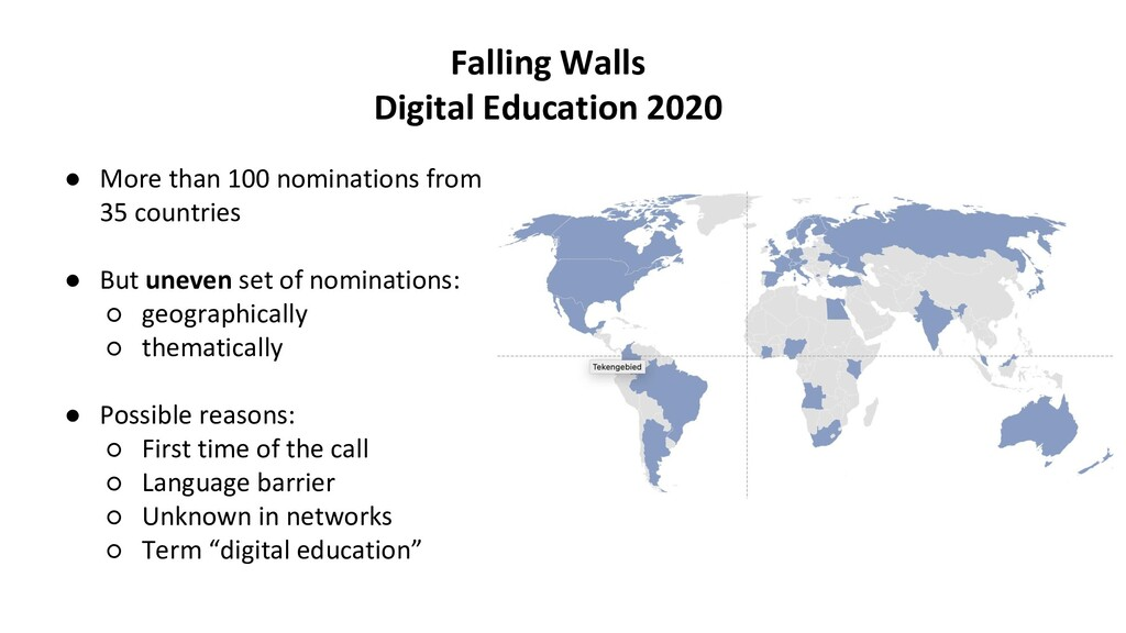 Falling Walls Digital Education 2020 ● More tha...