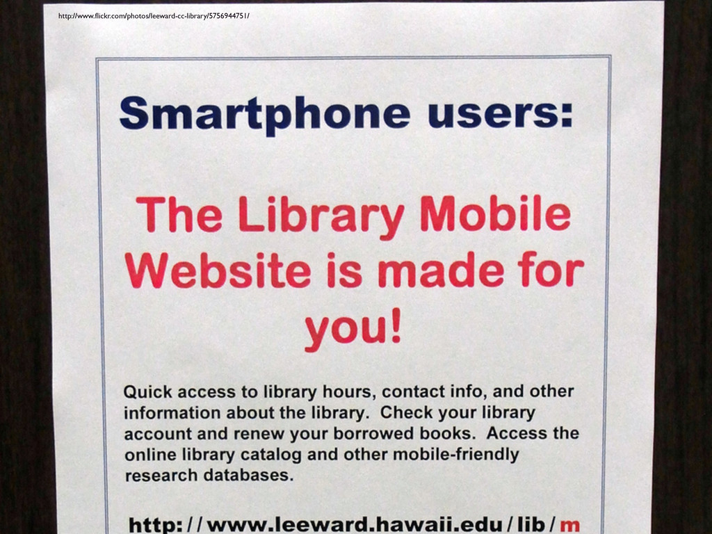 http://www.flickr.com/photos/leeward-cc-library/...