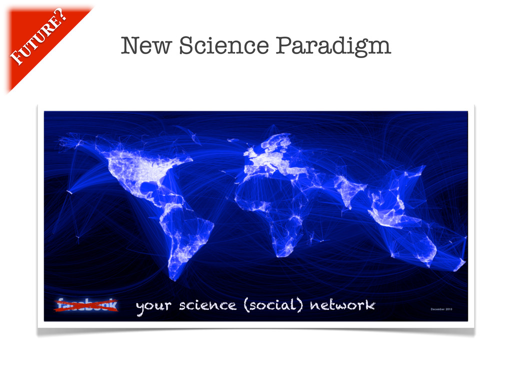 New Science Paradigm Fu tu re? your science (so...