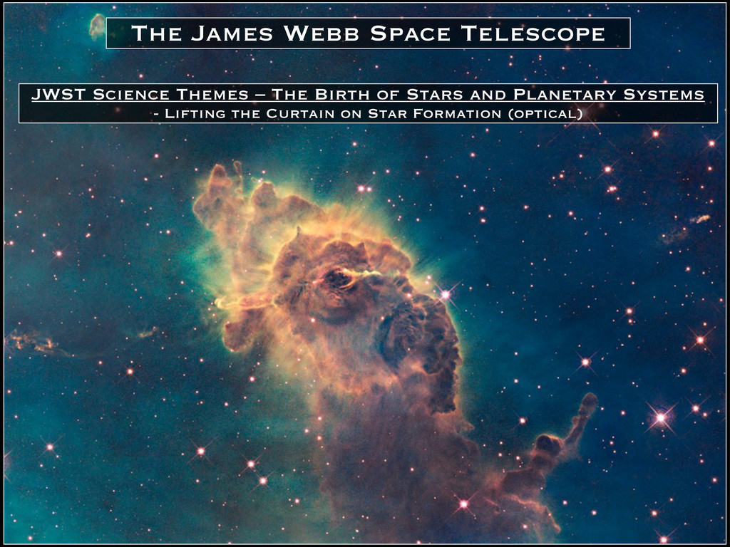 JWST Science Themes – The Birth of Stars and Pl...