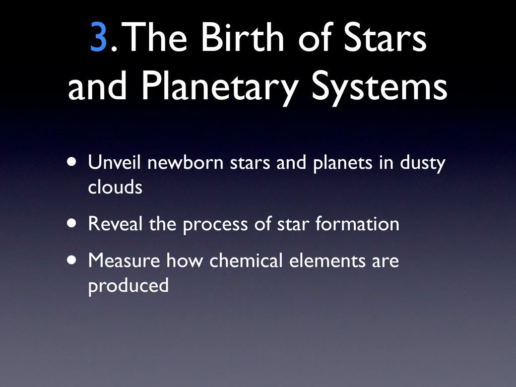 3. The Birth of Stars and Planetary Systems • U...