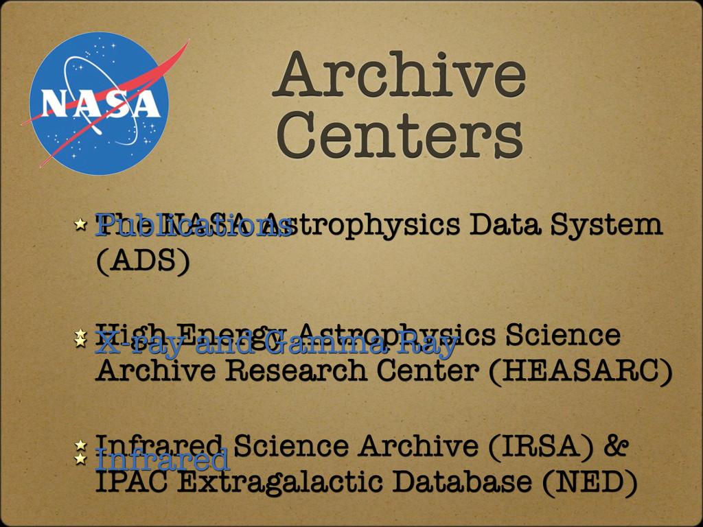 The NASA Astrophysics Data System (ADS) High En...