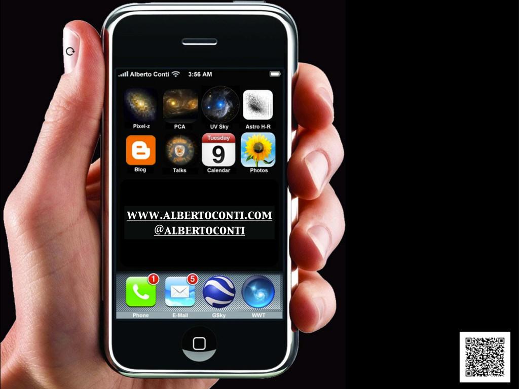 www.albertoconti.com @albertoconti