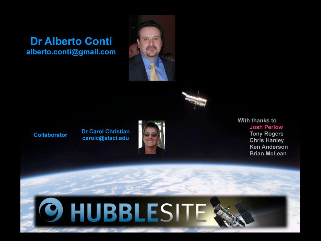 Dr Alberto Conti alberto.conti@gmail.com Dr Car...