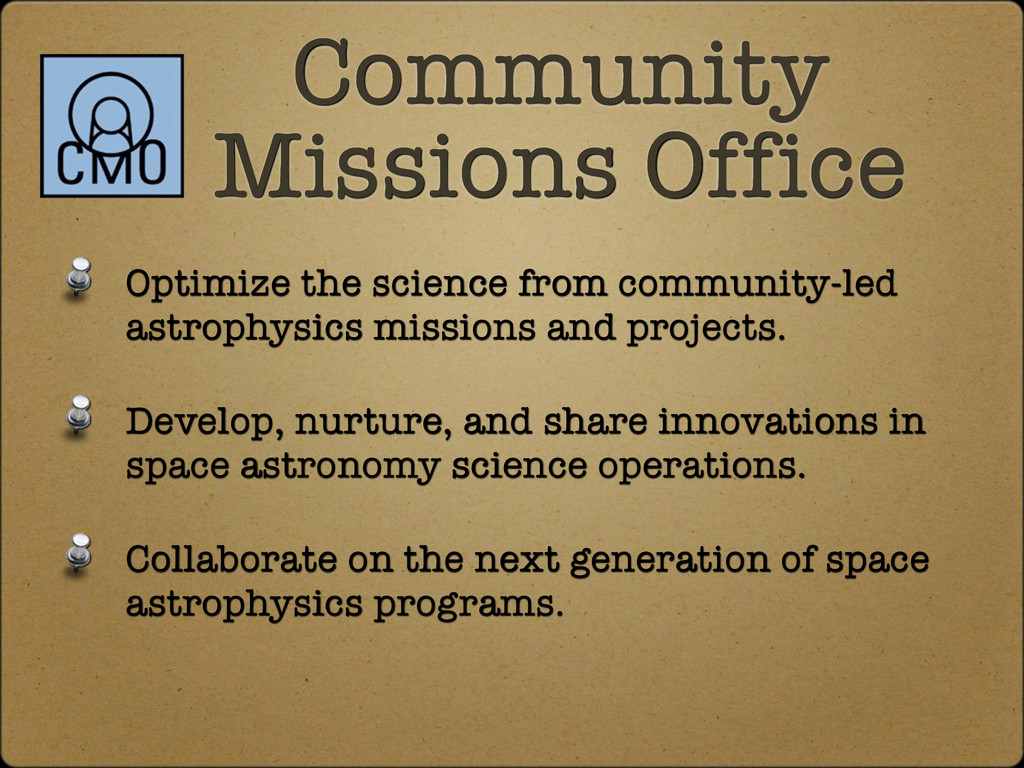 Optimize the science from community-led astroph...