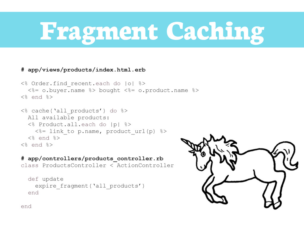 Fragment Caching # app/views/products/index.htm...