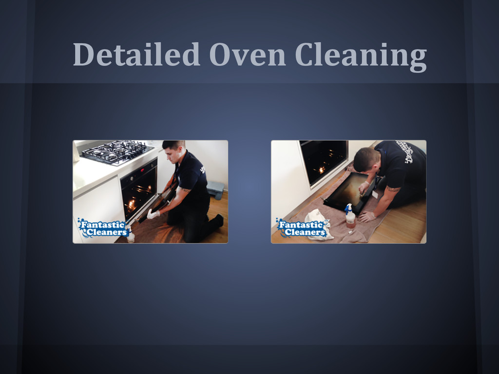 Detailed Oven Cleaning