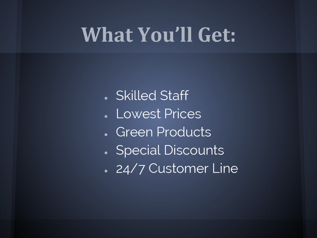 What You'll Get: ● Skilled Staff ● Lowest Price...