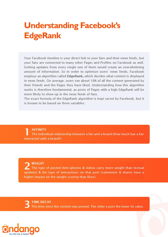 Understanding Facebook's EdgeRank Your Facebook...