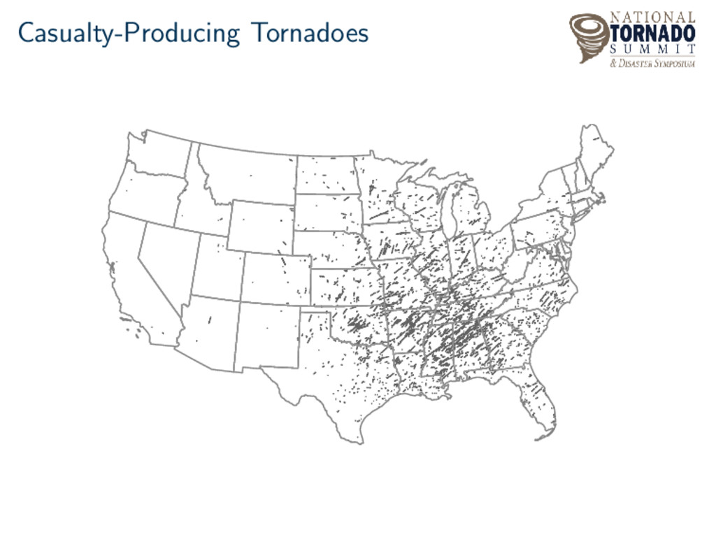 Casualty-Producing Tornadoes