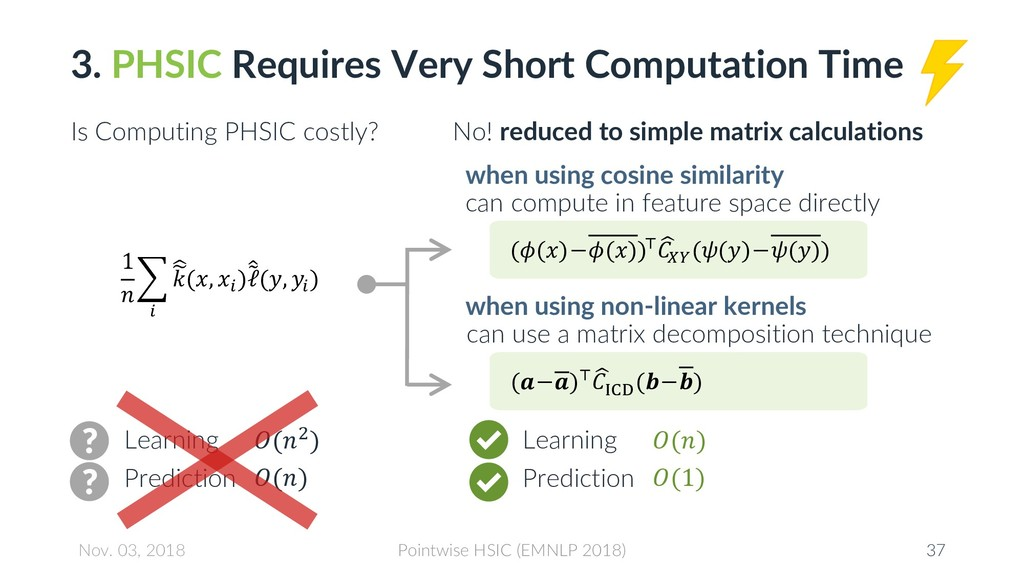 3. PHSIC Requires Very Short Computation Time I...