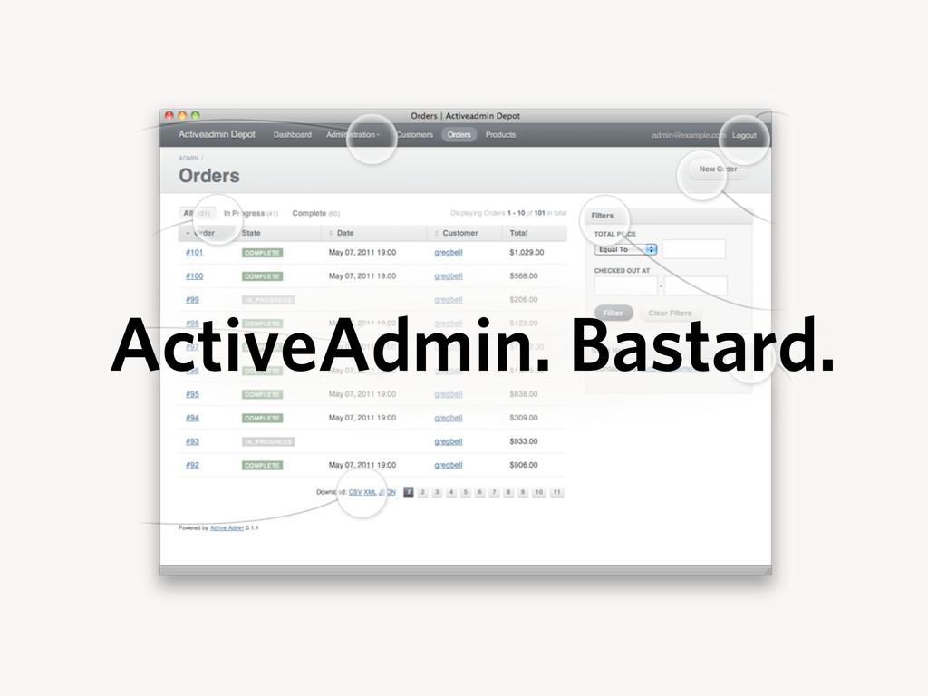 ActiveAdmin. Bastard.