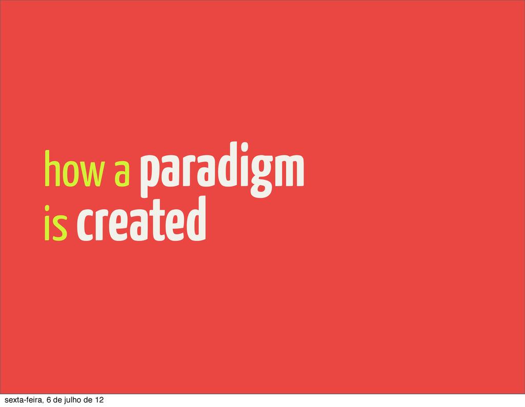 how a paradigm is created sexta-feira, 6 de jul...