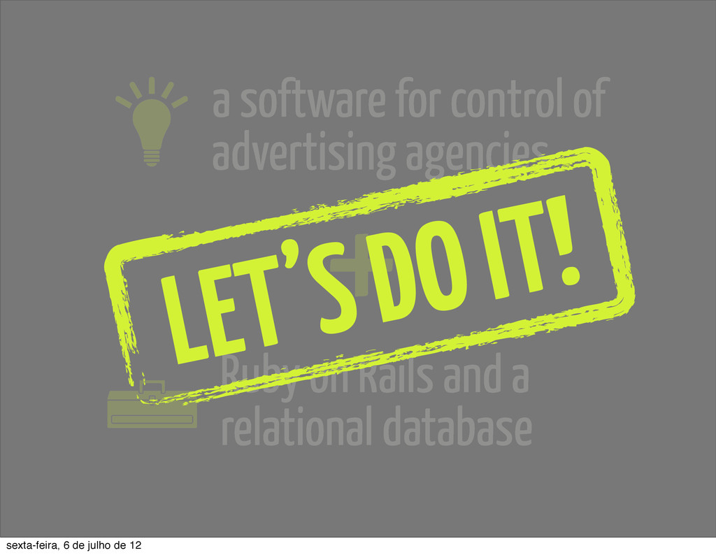 a software for control of advertising agencies ...