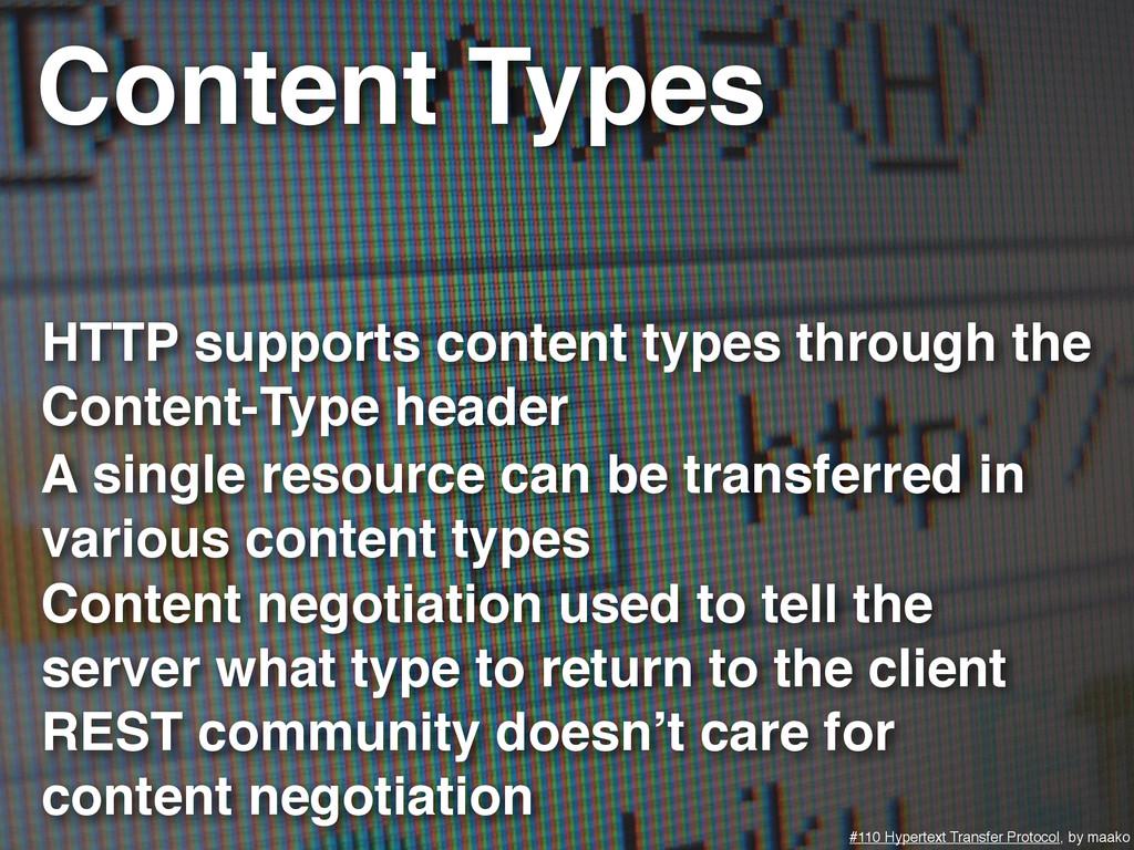 Content Types #110 Hypertext Transfer Protocol,...