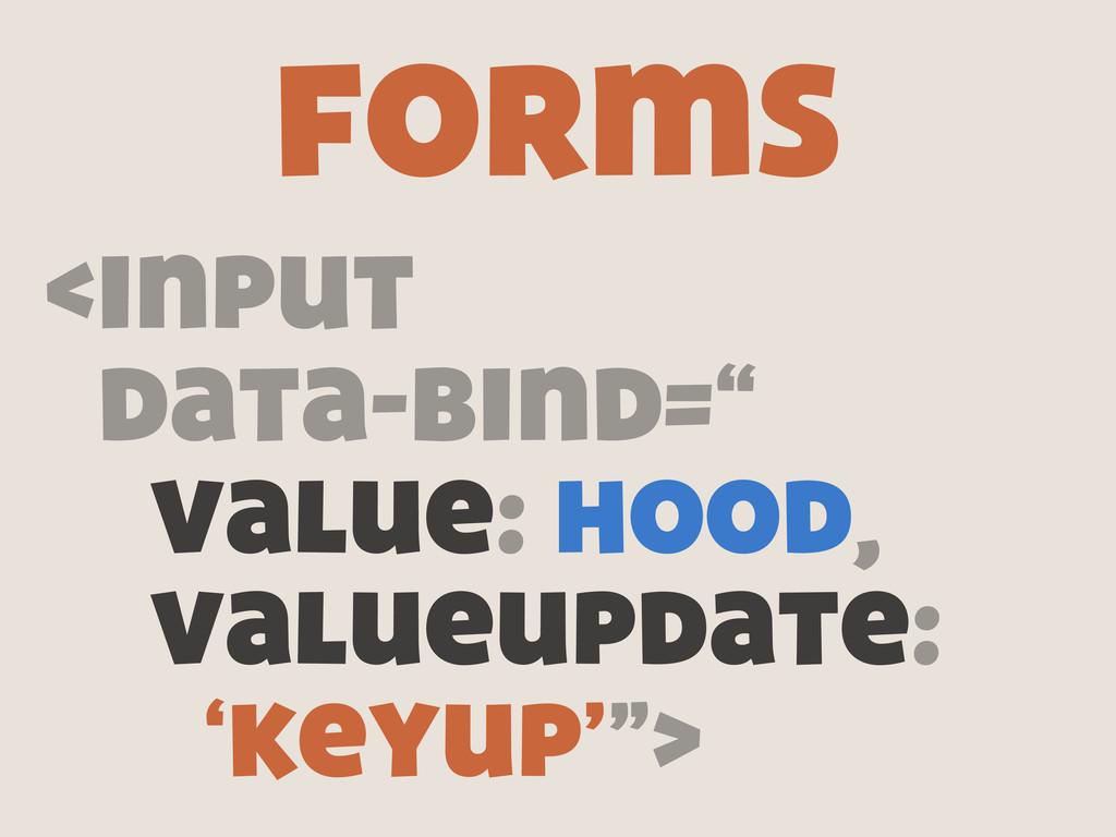 """<input data-bind="""" value: hood, valueupdate: 'k..."""