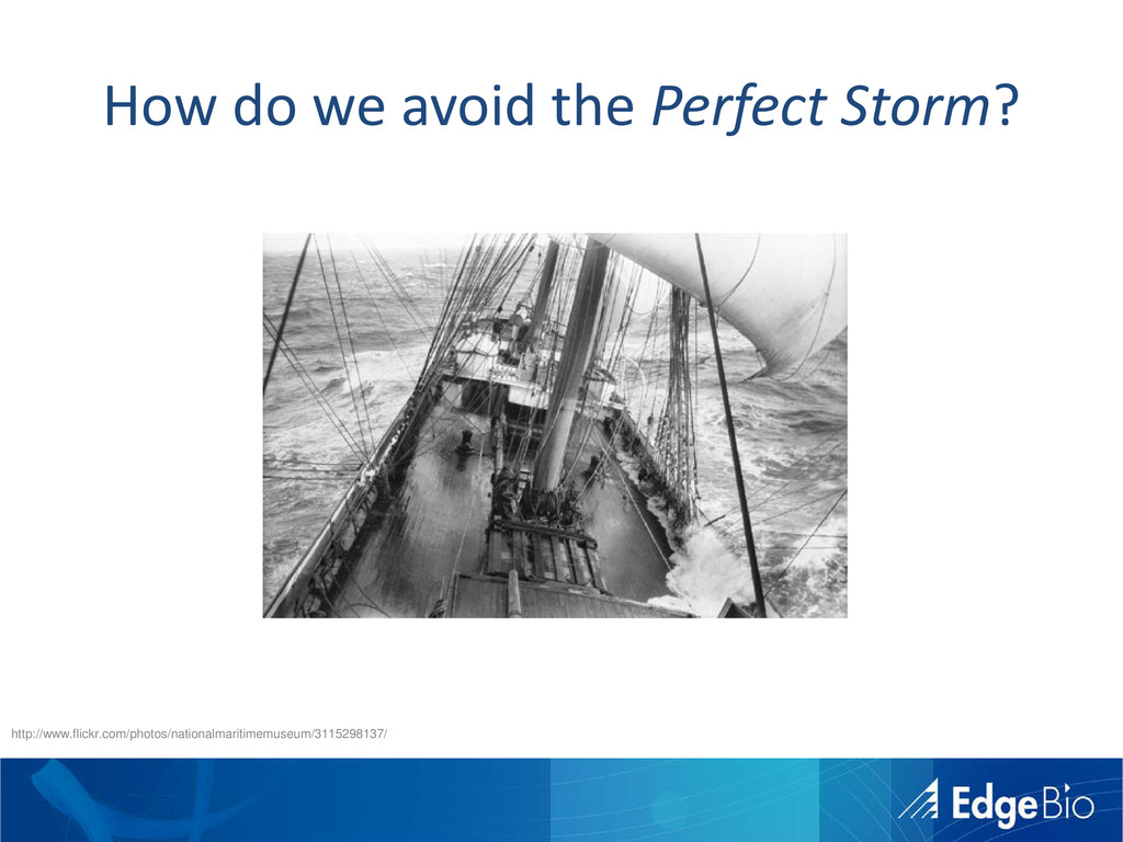 How do we avoid the Perfect Storm? http://www.f...