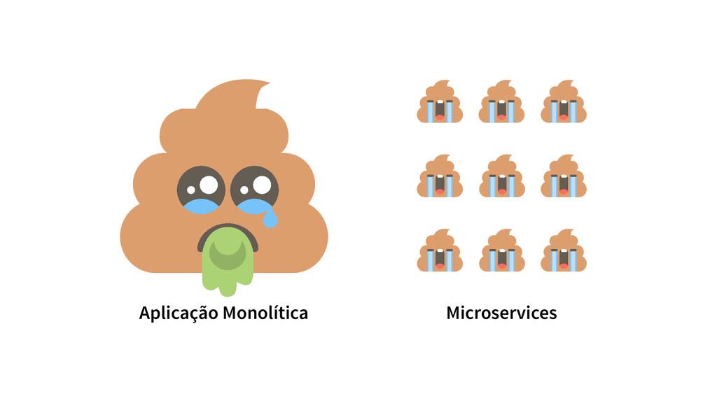 Aplicação Monolítica Microservices