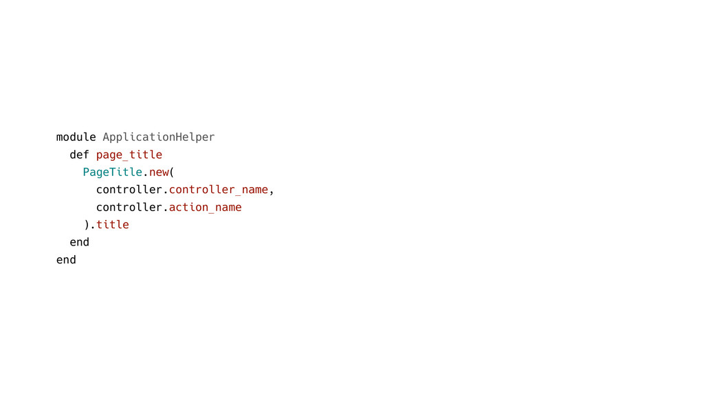 module ApplicationHelper def page_title PageTit...