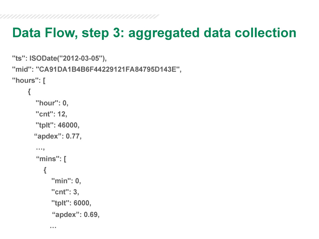 """Data Flow, step 3: aggregated data collection """"..."""