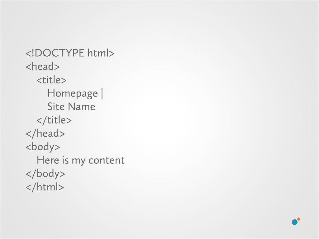 <!DOCTYPE html> <head> <title> Homepage | Site ...