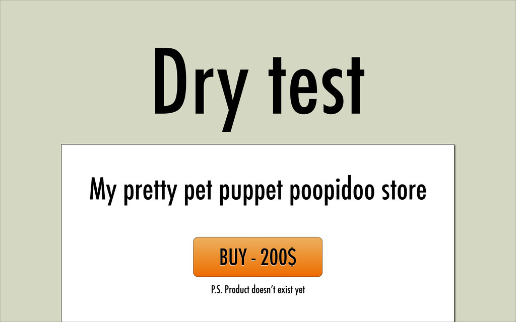 Dry test My pretty pet puppet poopidoo store BU...
