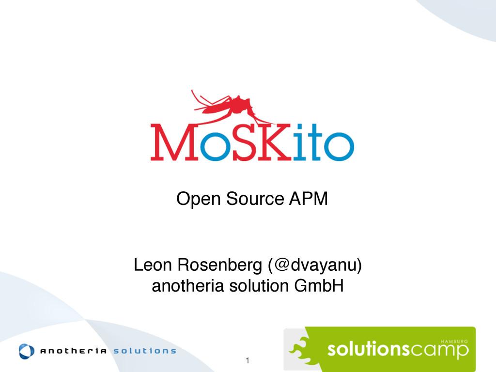 Leon Rosenberg (@dvayanu)! anotheria solution G...